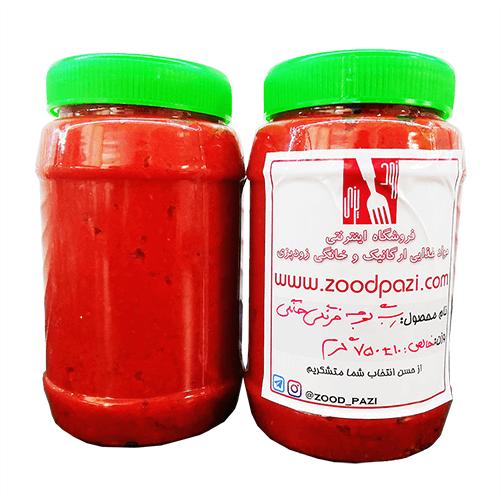 رب گوجه فرنگی خانگی