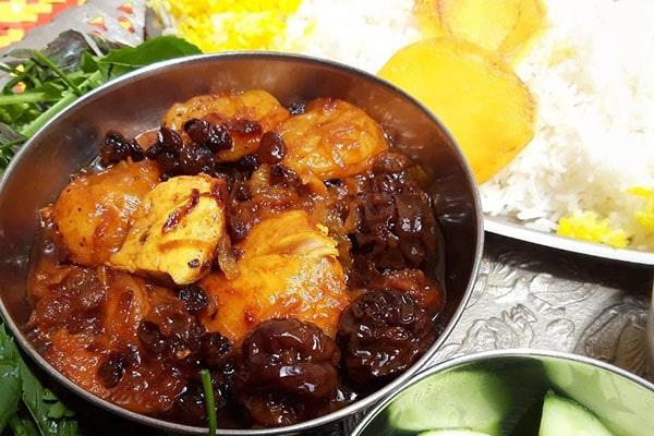 طرز تهیه آلو مسما گیلانی(شیرین خورشت)